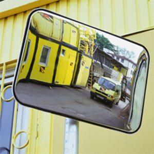 Rectangular Observation Mirrors