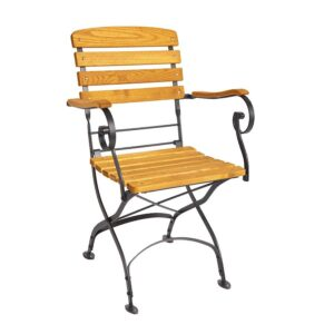 Folding Outdoor Arm Chair