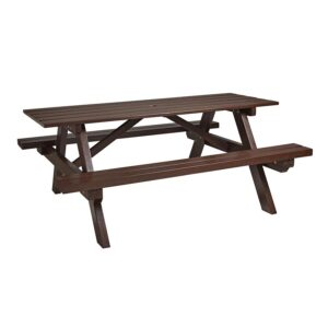 Recycled Outdoor Picnic Bench