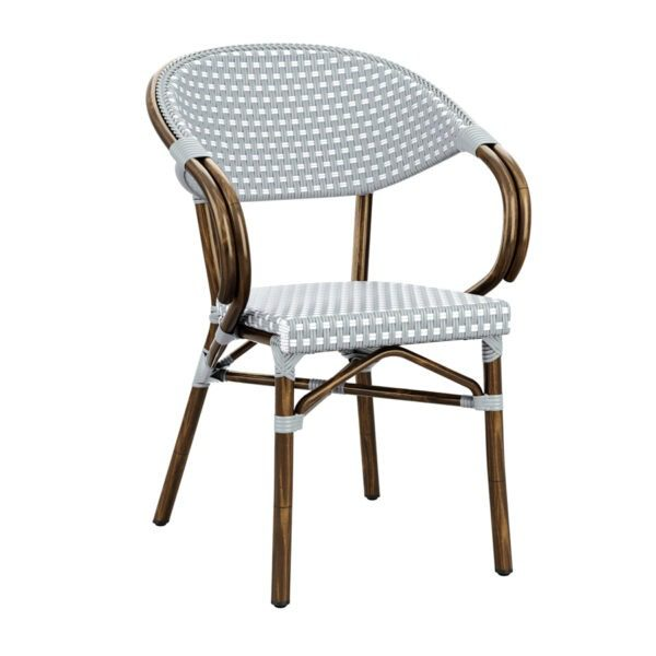 Outdoor Stacking Arm Chair