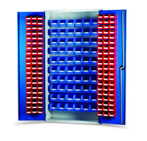 Louvred Panel Container Cabinets and Kits