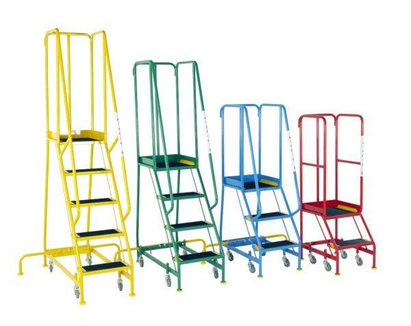 Narrow Aisle Mobile Steps