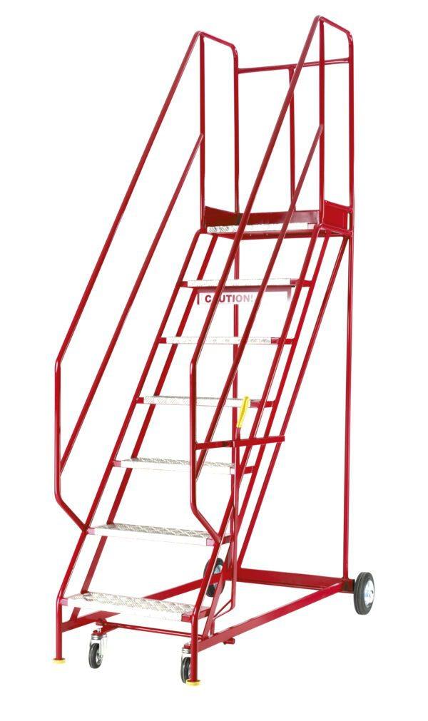 Quality Red Range Mobile Steps