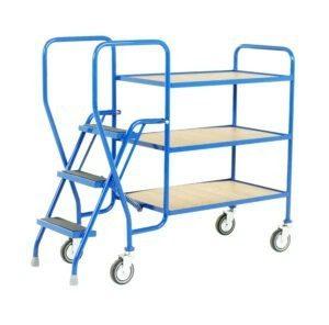 3 Step Tray Trolleys