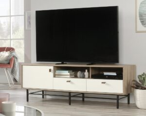 Avon Leather TV Stand/Credenza