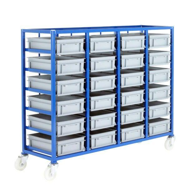 Small Parts Storage Tray Racks
