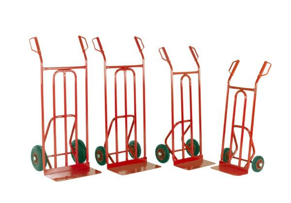 Sack Trucks with Fixed or Folding Toe Plate