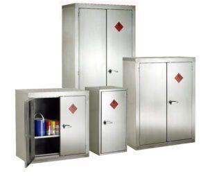 Stainless Steel Hazardous Cabinets